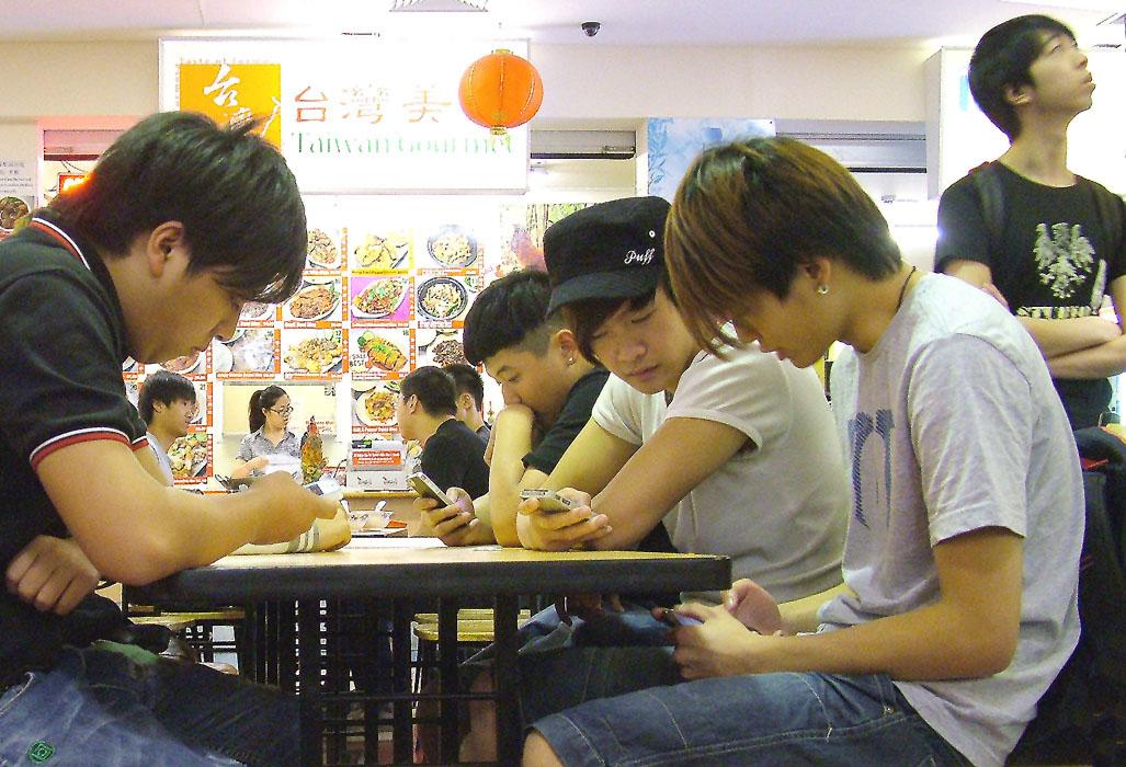 Warten auf's Essen.