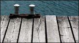 ,,, Warten, bis ein Boot kommt ... von Otto Krb