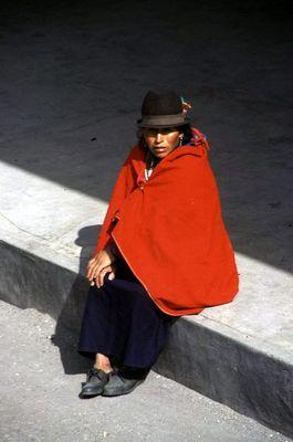 Warten in Riobamba