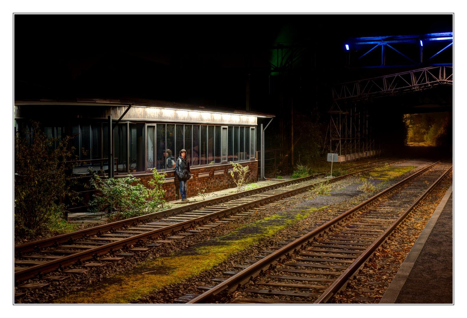 Warten uf en Zug