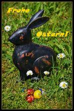 Warum muss ausgerechnet ich, der Osterhasi, immer zu Ostern ran?