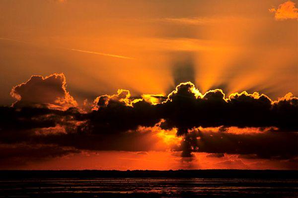 Warum nicht mal einen Sonnenuntergang zeigen?!