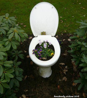 Was die Menschen sich so in den Garten stellen