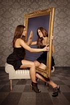was ich an dir mag ist mein Spiegelbild