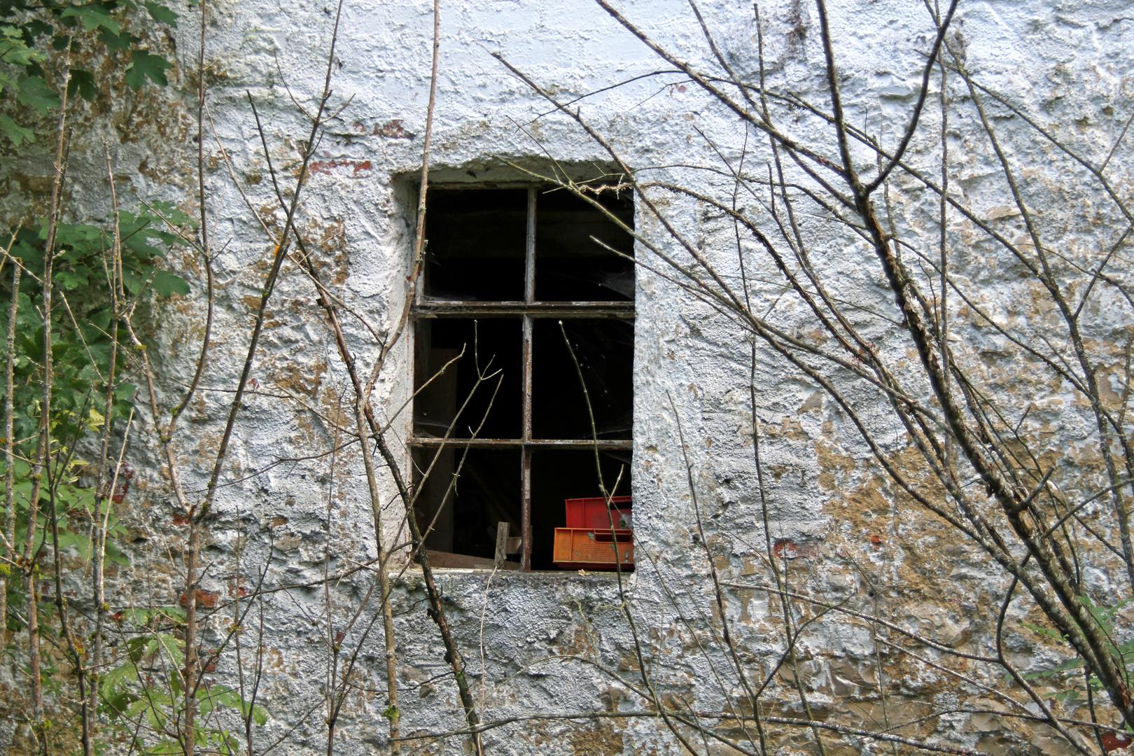 Was ist den hinter dem Fenster ?