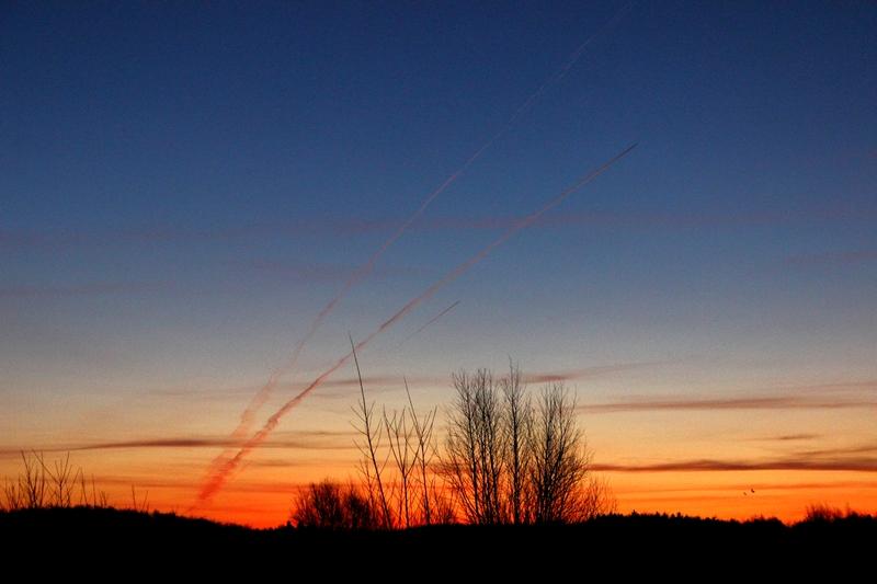 Was ist geschehen - Sonnenaufgang - und dann das !