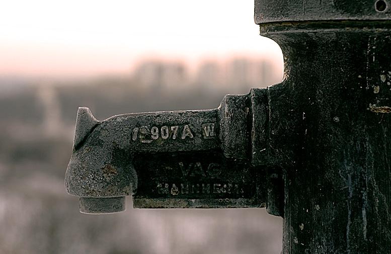 Was macht ein Hydrant im Winter?