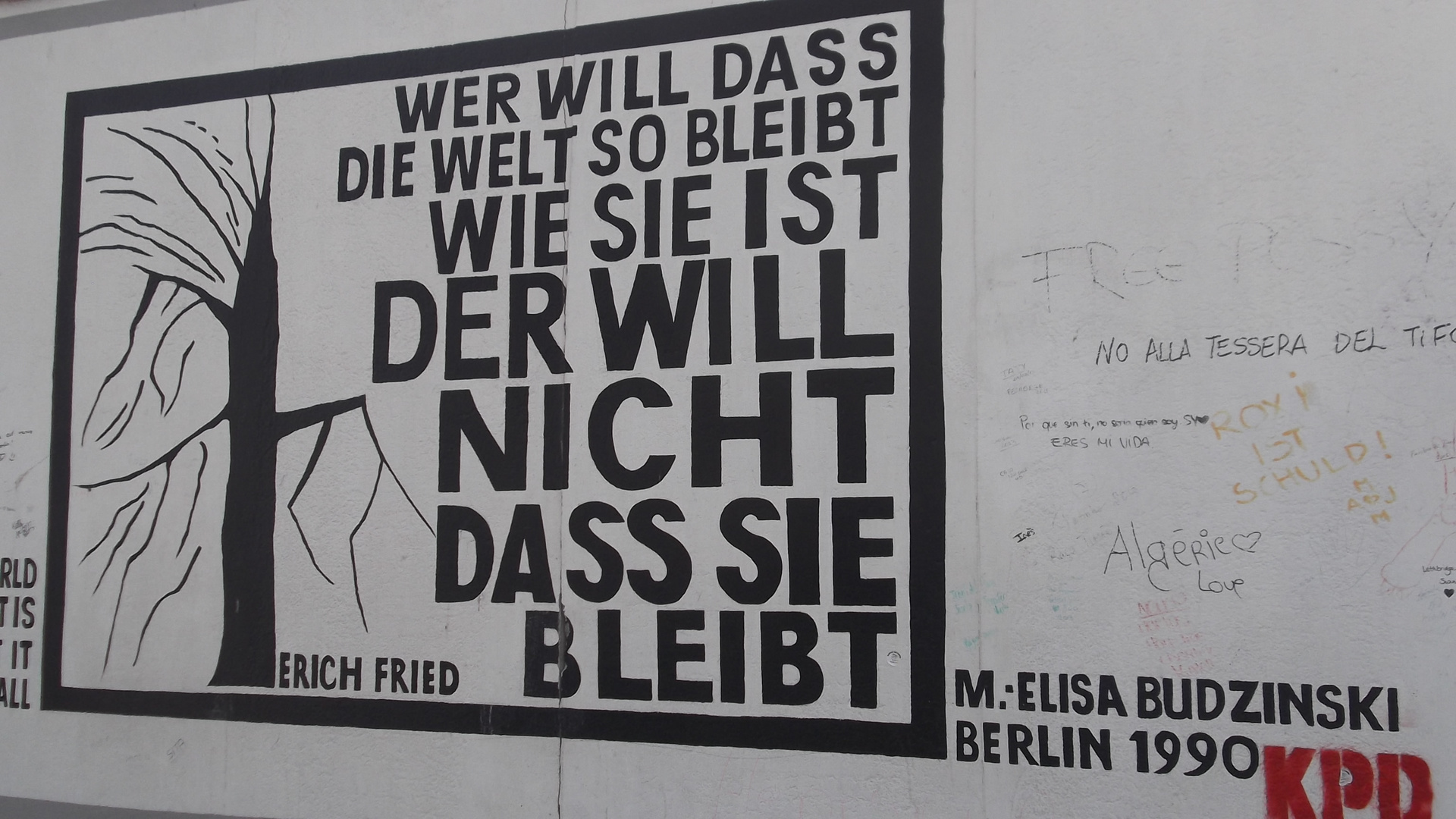 Was Mauern sagen...