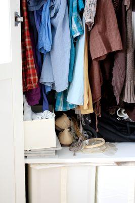 Was sagt das Innere eines Kleiderschrankes über seinen emotionalen Zustand aus?