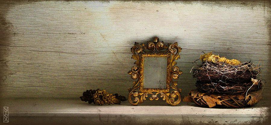 ..was so in der wohnung rumsteht: spiegel