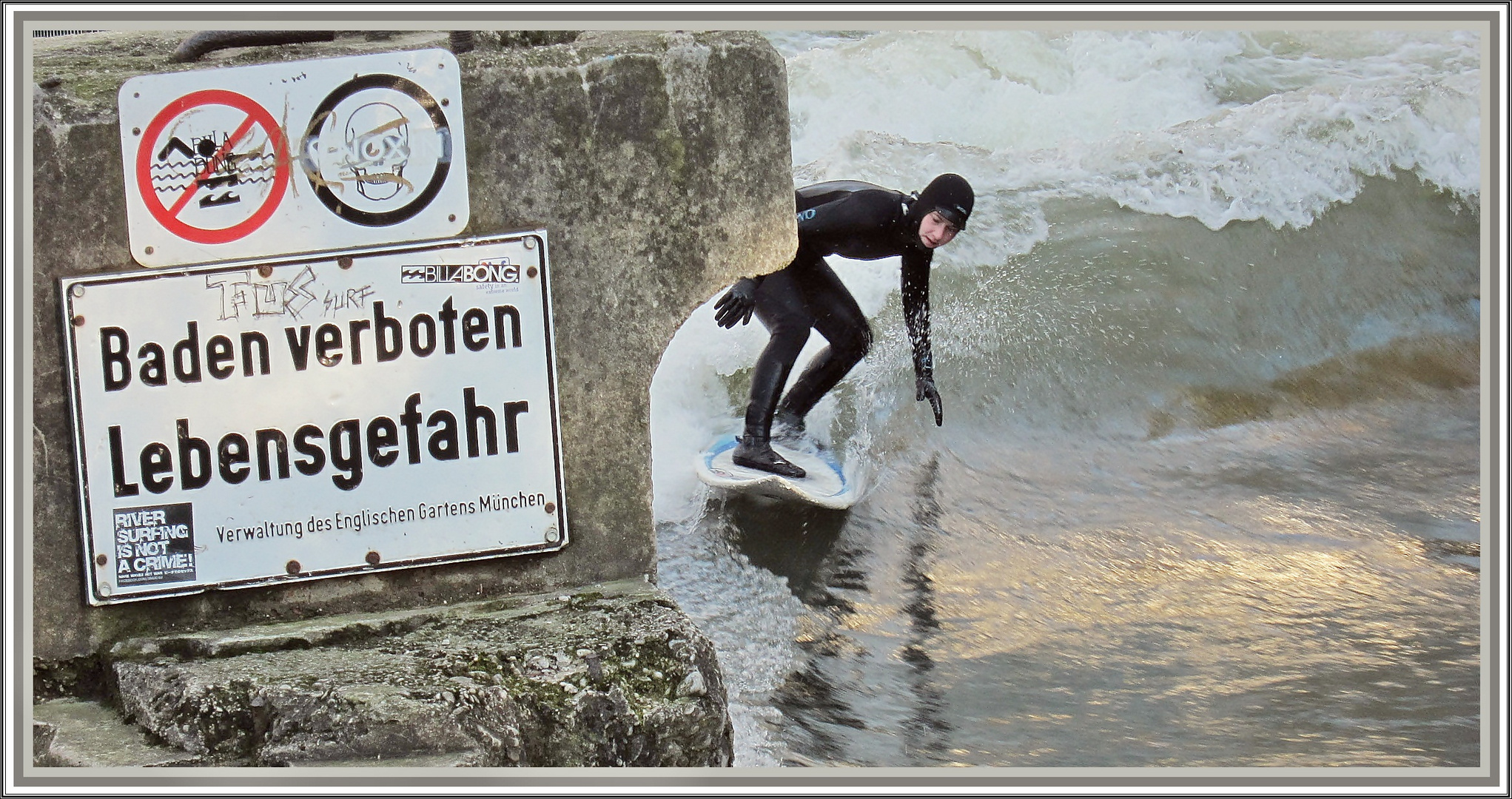 Was soll`s...