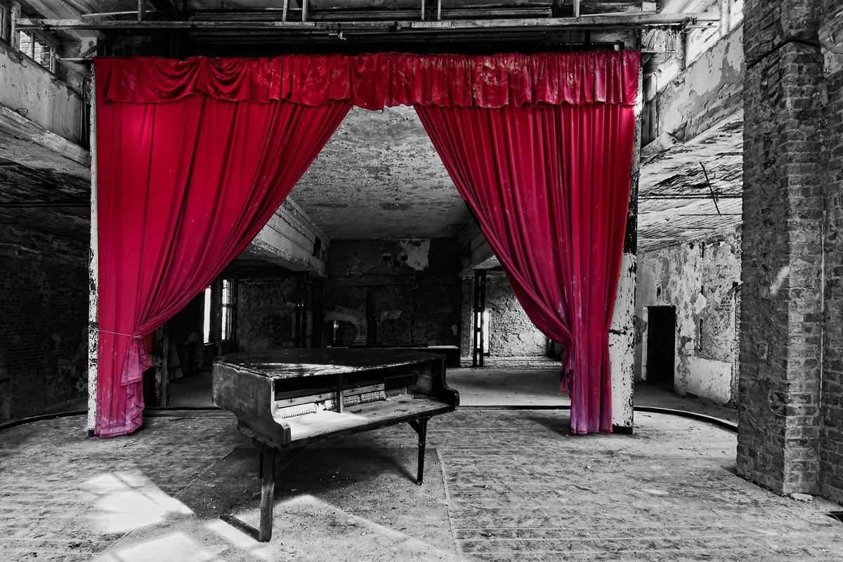 was übrig blieb - Festsaal Grabowsee