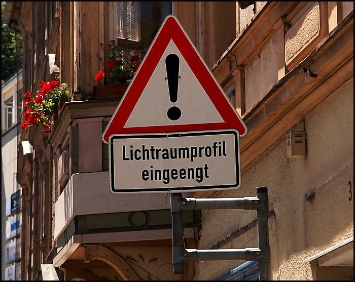 ... was will uns FC`ler dieses Schild sagen ??? ...
