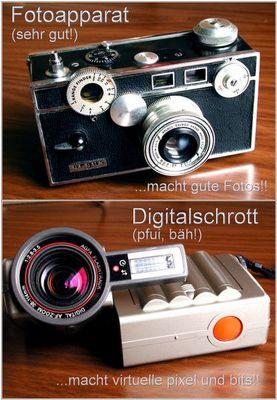 Was wir schon immer über Fotografie wissen wollten...