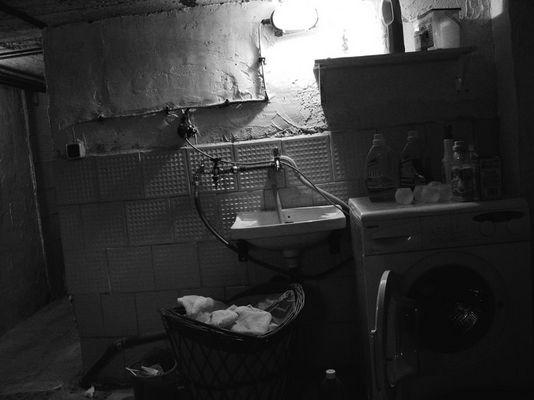 waschküche oder leben auf dem land