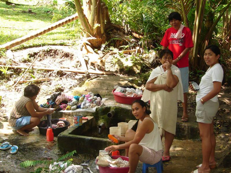 Waschtag im Paradies