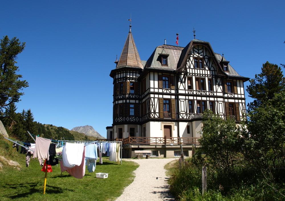 Waschtag in der Villa Cassel