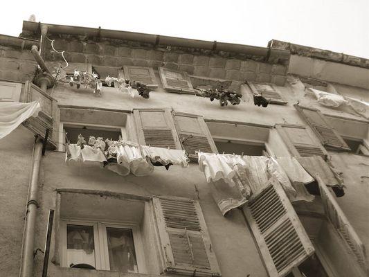 Waschtag in Grasse