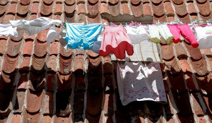 Waschtag in Hervás