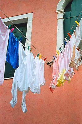 Waschtag in Venedig...