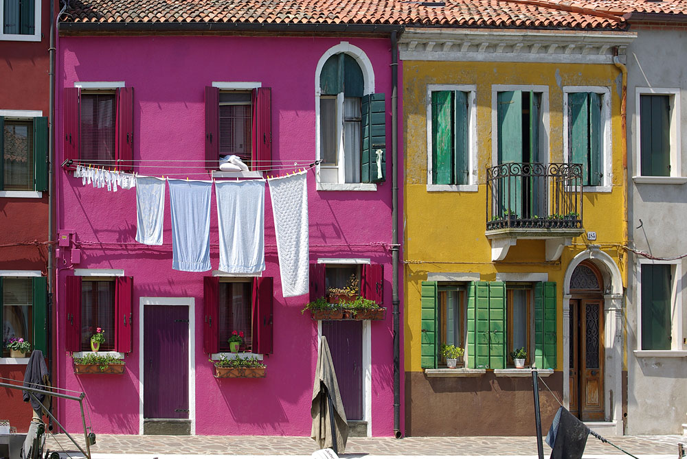 Waschtag IV in Burano