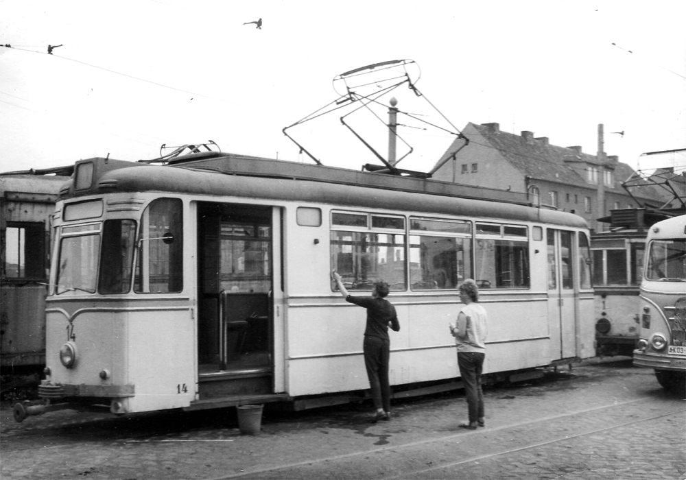 Waschtag Tw14 Foto Bild Bus Nahverkehr