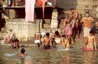 Waschung im Ganges