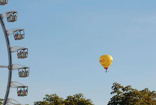 Wasen nicht Wies'n - Riesenrad trifft Ballon