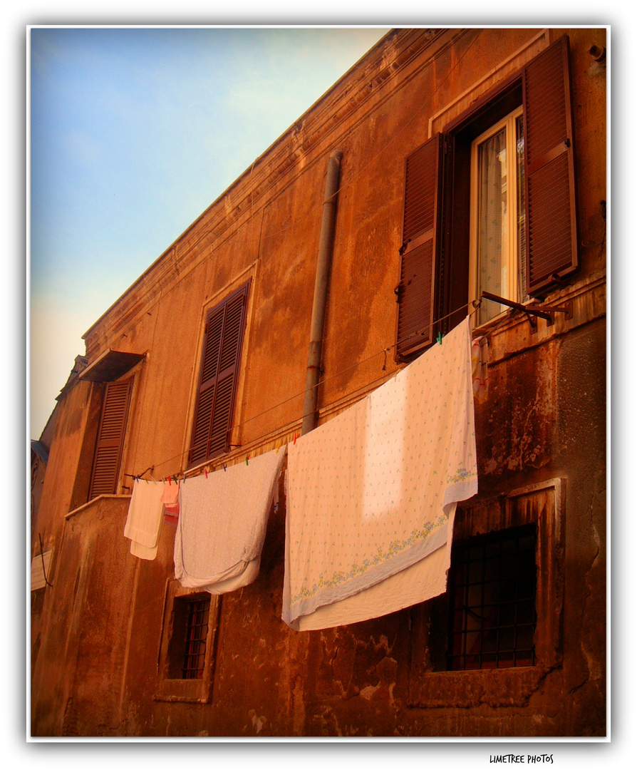 Washday in Trastevere