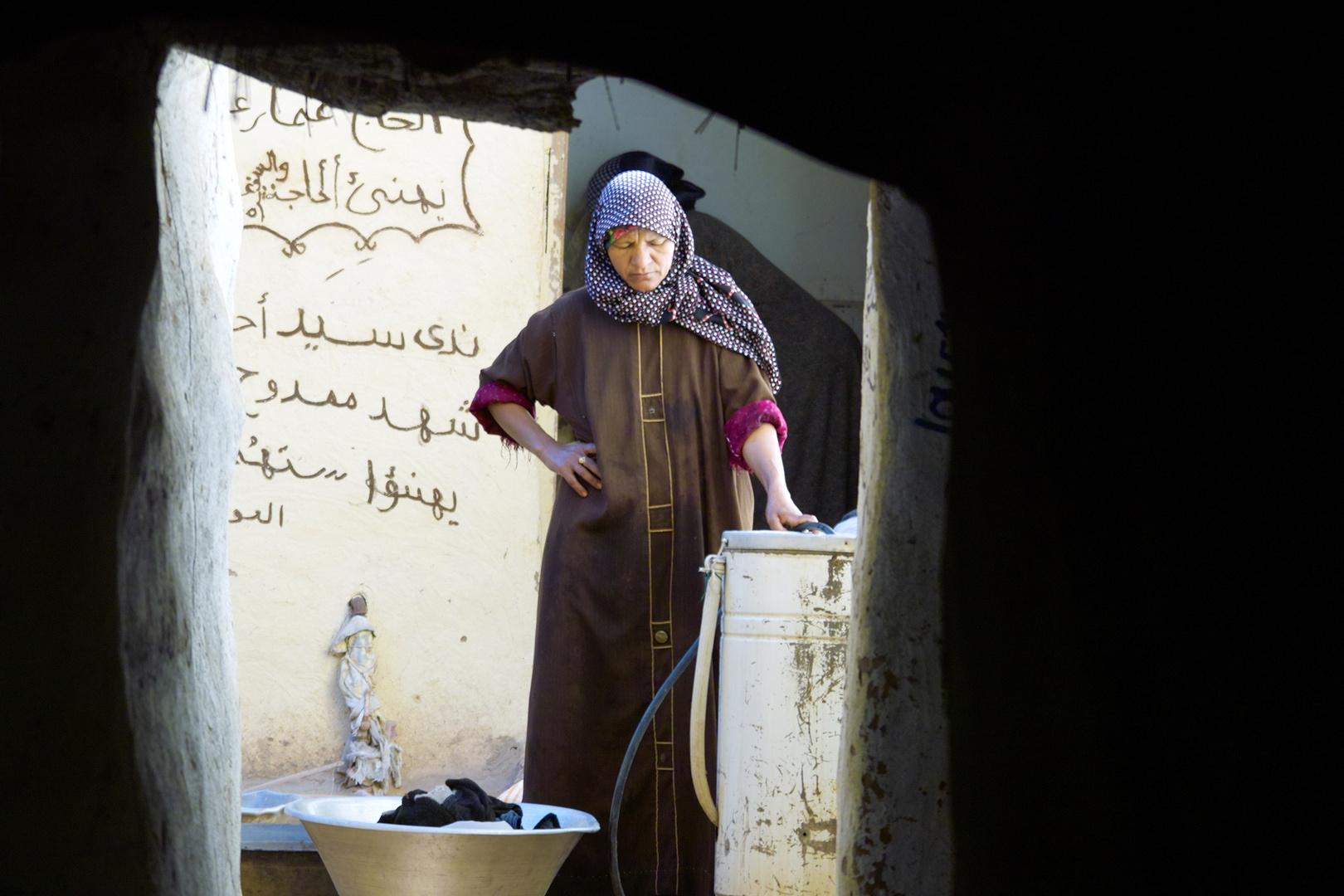 Washing Day - Dakhla Oasis - Ostsahara