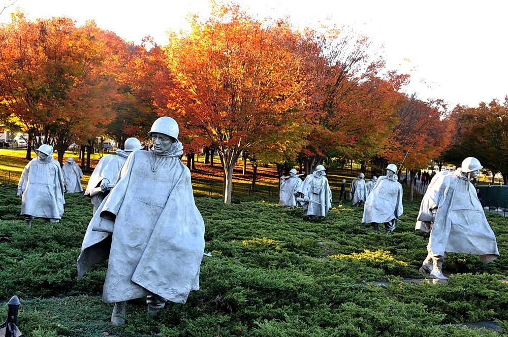 Washington DC Nov 2010 Mémorial (guerre de Corée)