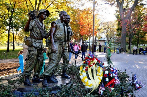 Washington DC Nov 2010 Mémorial (guerre du Vietnam )