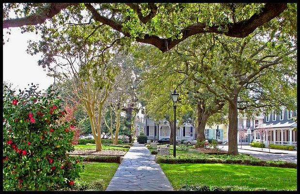 Washington Square in Savannah