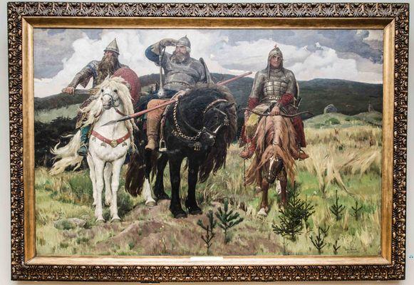 Wasnezow Viktor, Die drei Bogatyr