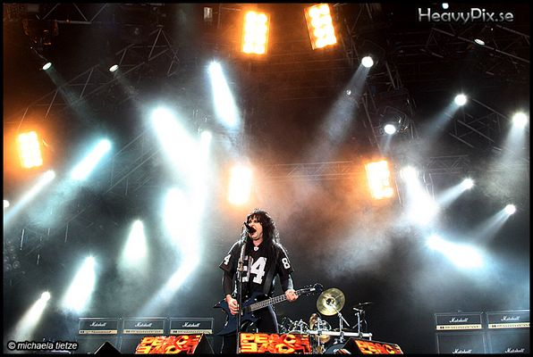 W.A.S.P. @ Peace and Love 2008