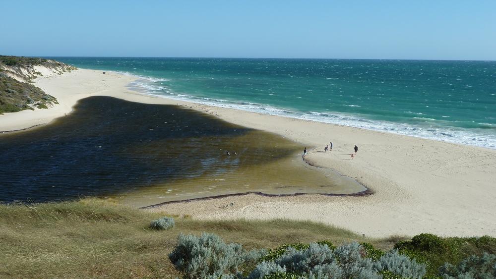Wasser der Gegensätze Western-Australia