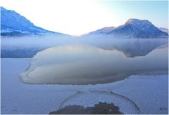 Wasser, Eis und Berg...