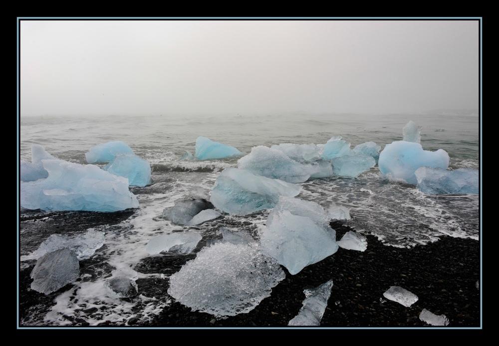 Wasser, Eis und Nebel ...