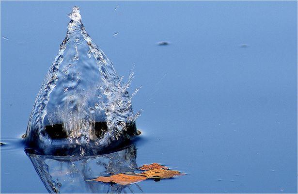 Wasser in einer schönen Form