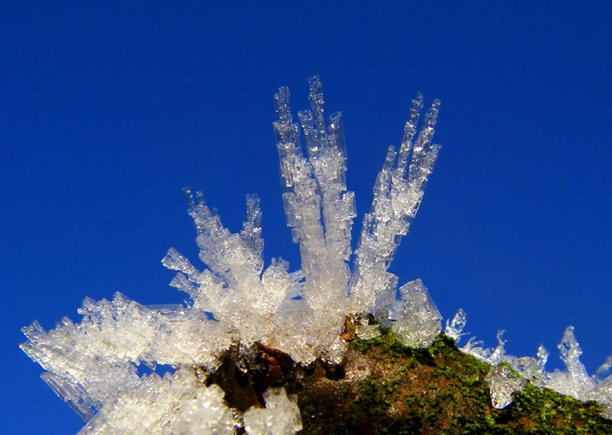 Wasser-Kristalle