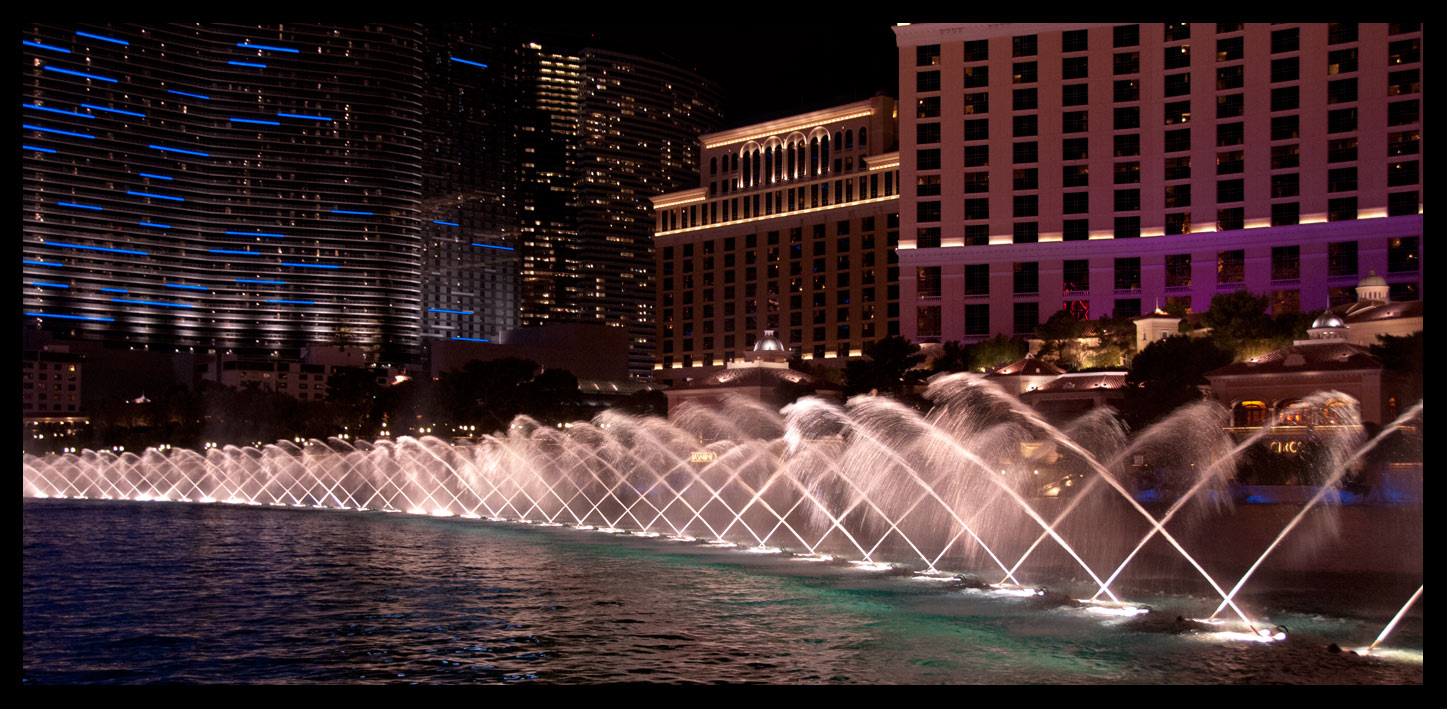 $$ Wasser-Licht Spiel in Las Vegas $$