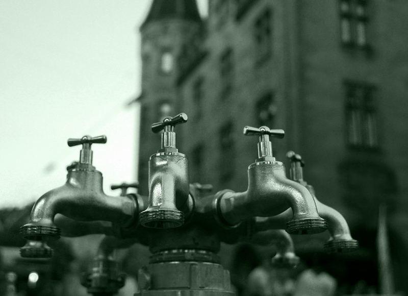 Wasser marsch...