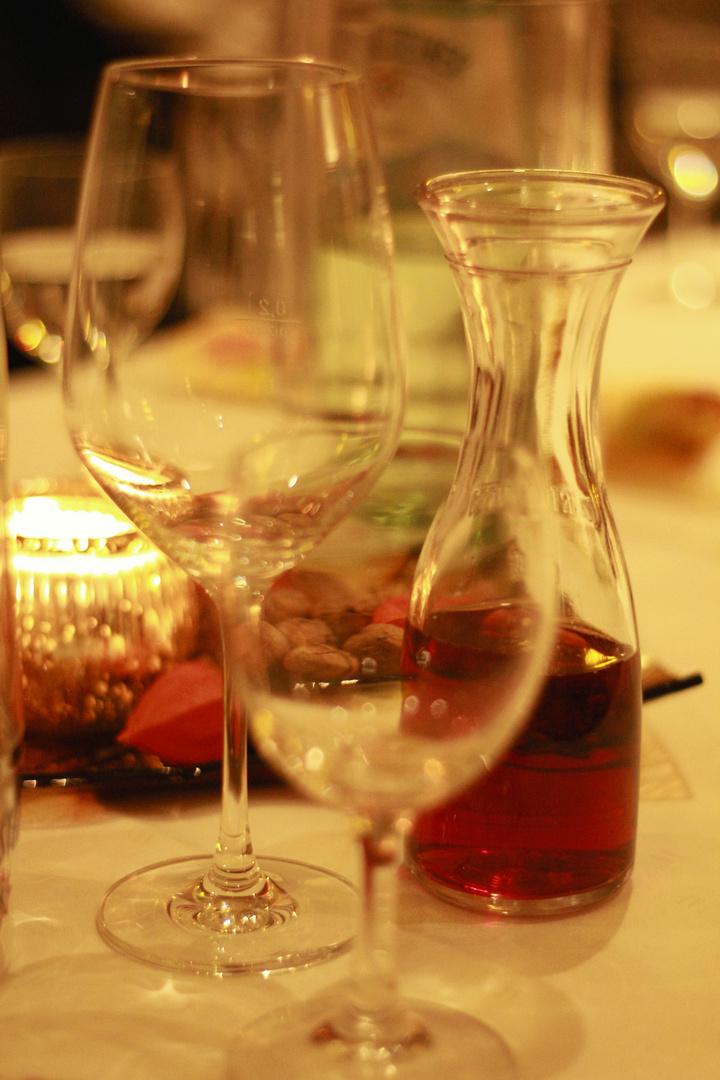Wasser oder Wein?