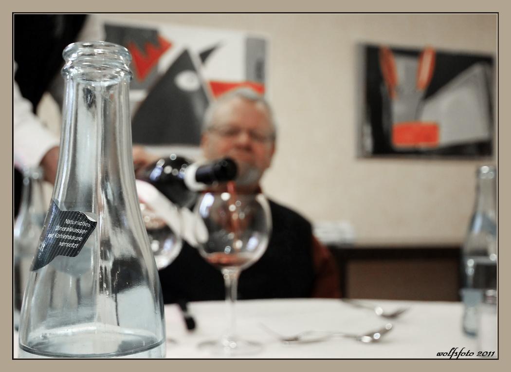 Wasser oder Wein ?
