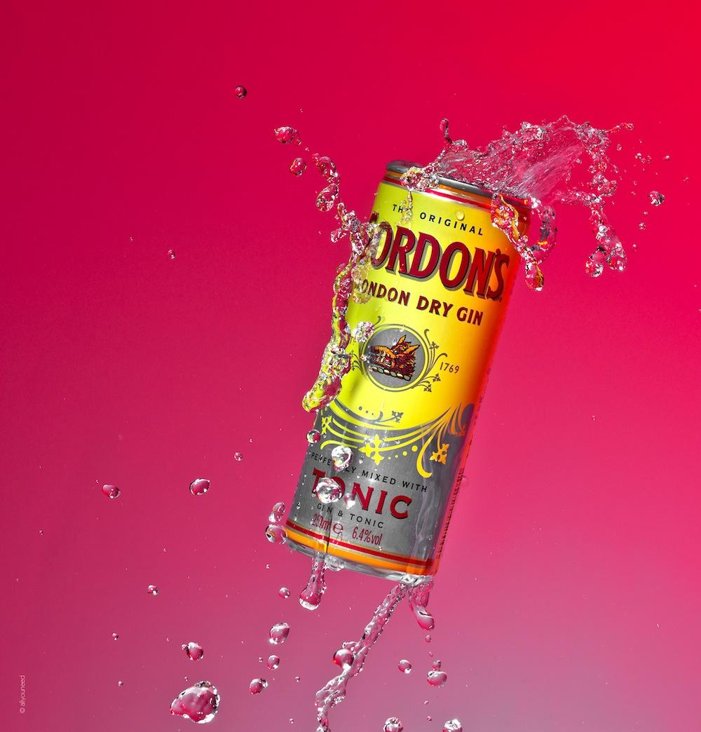 Wasser Splash mit Gordons