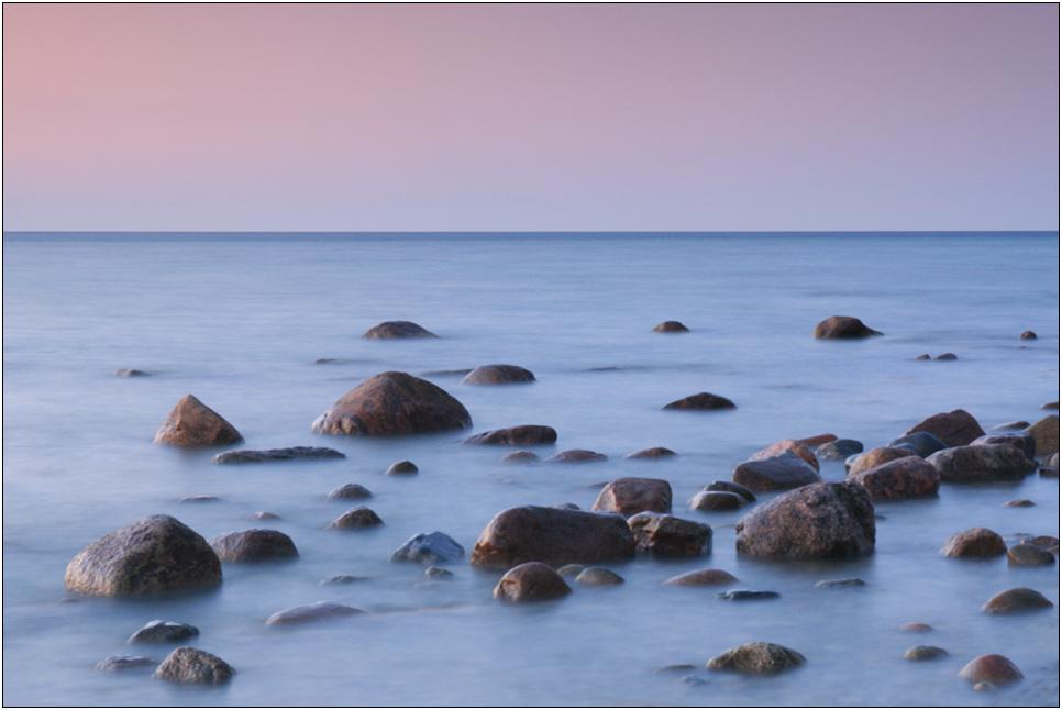 Wasser + Steine