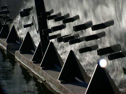 Wasser trifft Stahl