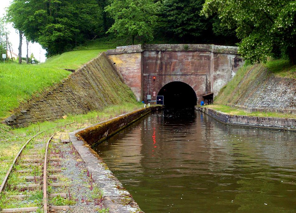 Wasser-Tunnel