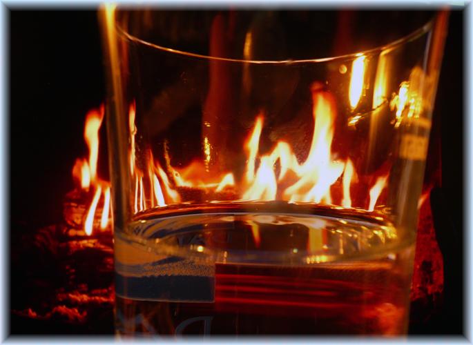 Wasser und Feuer
