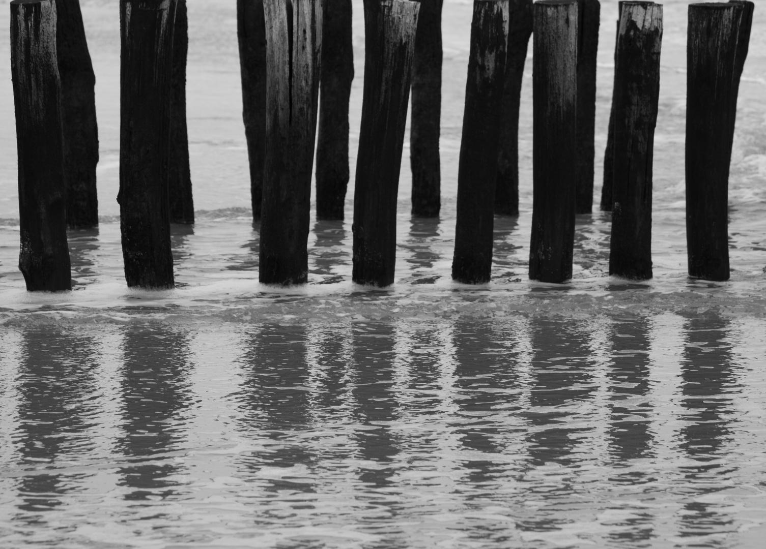 Wasser und Holz